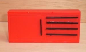 Beispiel Front 4 Rot / Schwarz 092200