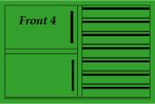 Front 4 / grün